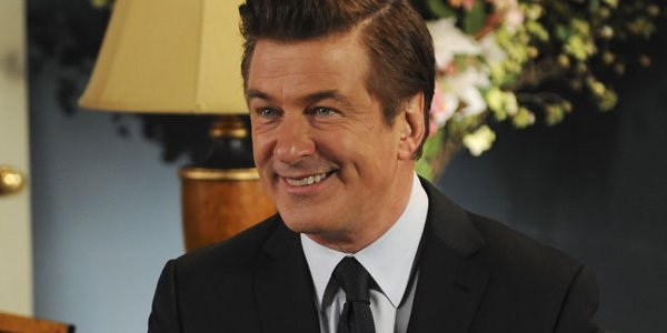 Jack Donaghy 30 Rock Sitting on a Couch Alec Baldwin
