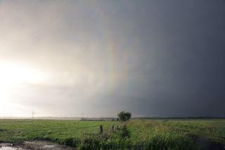 quaternary rainbow photograph