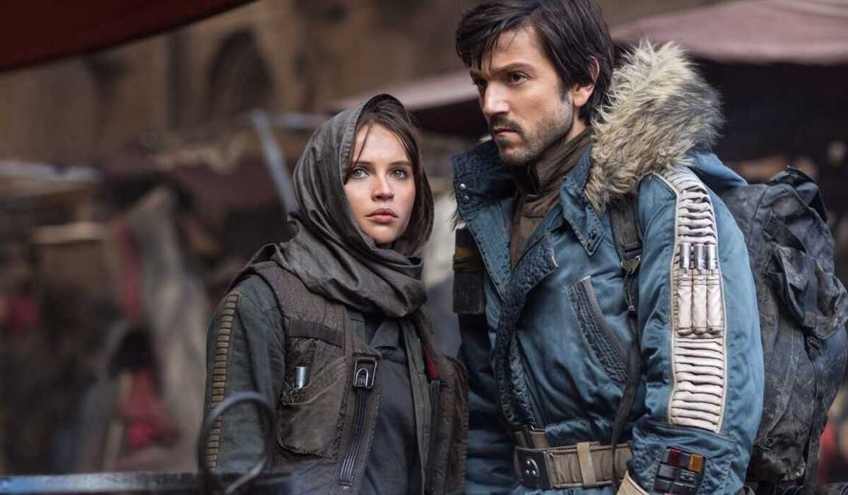 rogue one star wars story jyn erso cassian andor