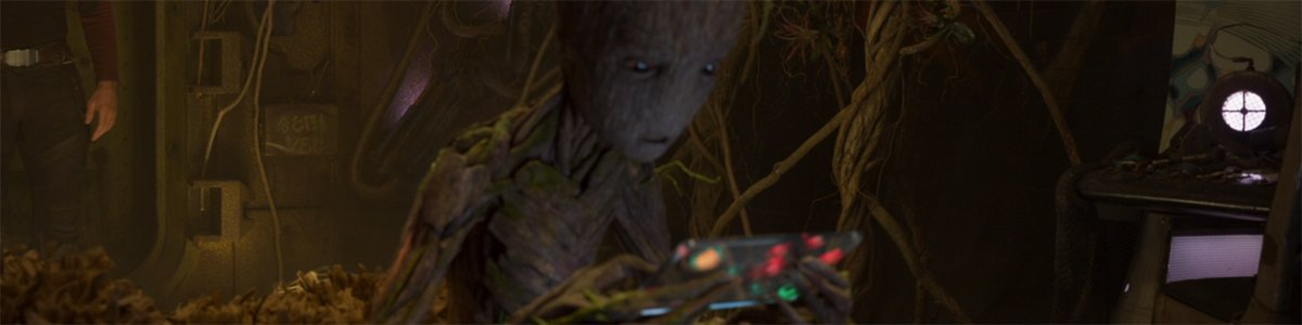 Groot in Guardians of the Galaxy Vol 2 end credits