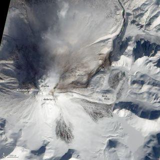 Kizimen volcano