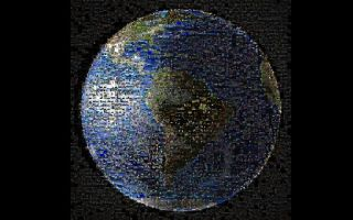 Earth Waves at Cassini Collage