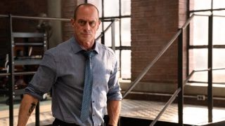 Christopher Meloni as Elliot Stabler in Law & Order: Organized Crime.