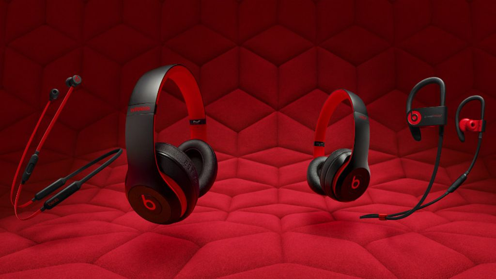Apple's celebrating 10 years of Beats with new red-and-black themed headphones