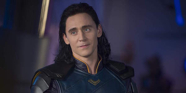 Tom Hiddleston as Loki in Thor: Ragnarok