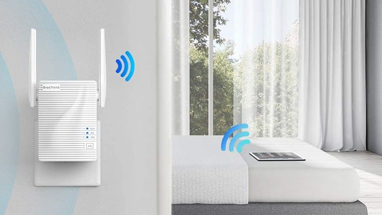 BrosTrend AC1200 Wi-Fi Booster Range Extender
