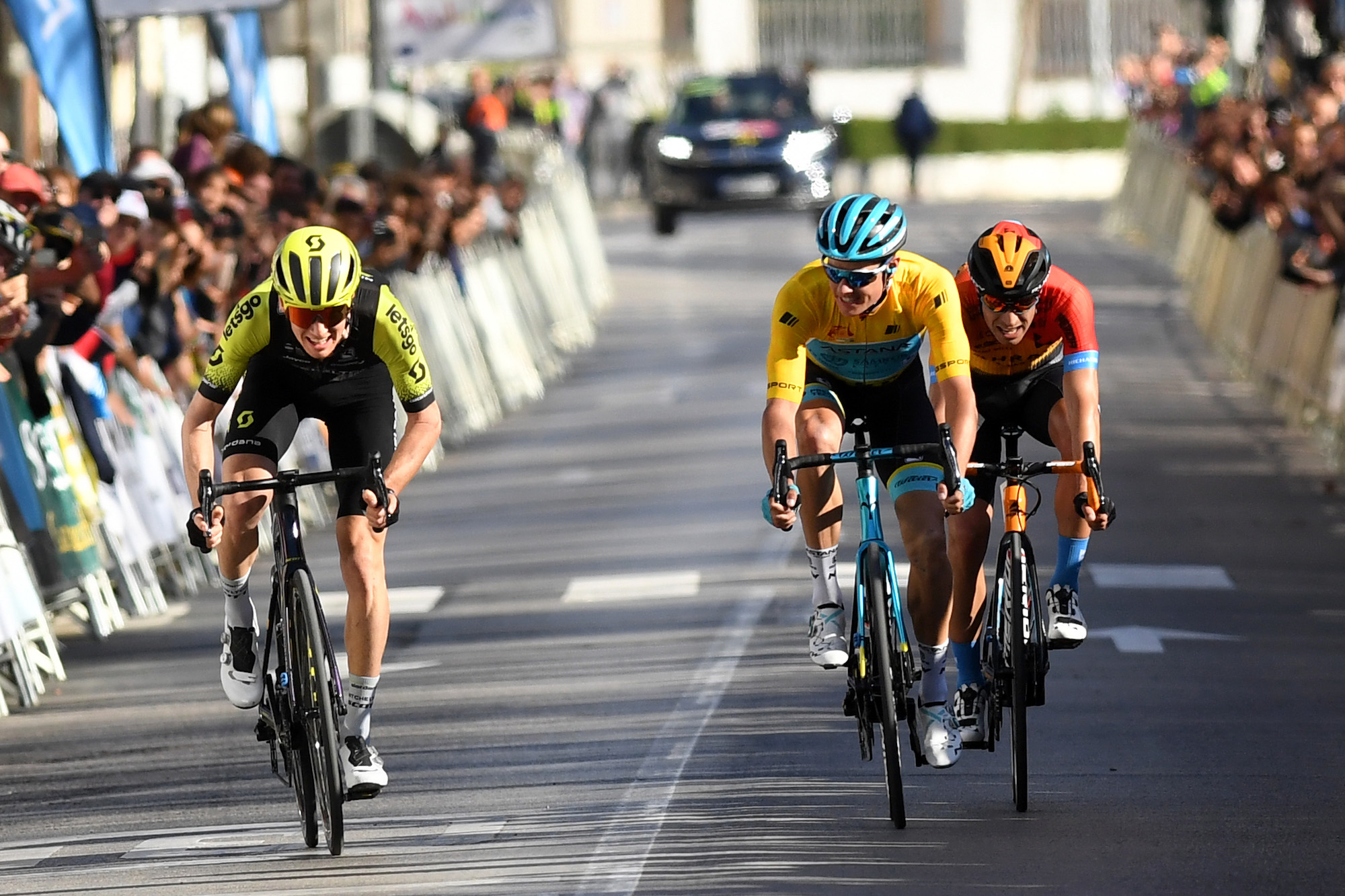 Jack Haig outsprints Jakob Fuglsang and Mikel Landa to stage four victory at Ruta del Sol - Cycling Weekly