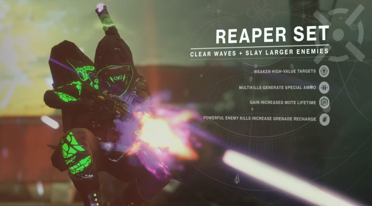 Destiny 2 Gambit Prime armor set bonuses and special perks