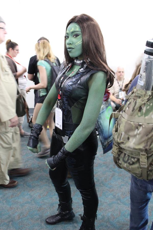 SDCC Costume Gamora