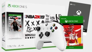 Save more than $60 on a sports-lovers dream of an Xbox One S bundle right now