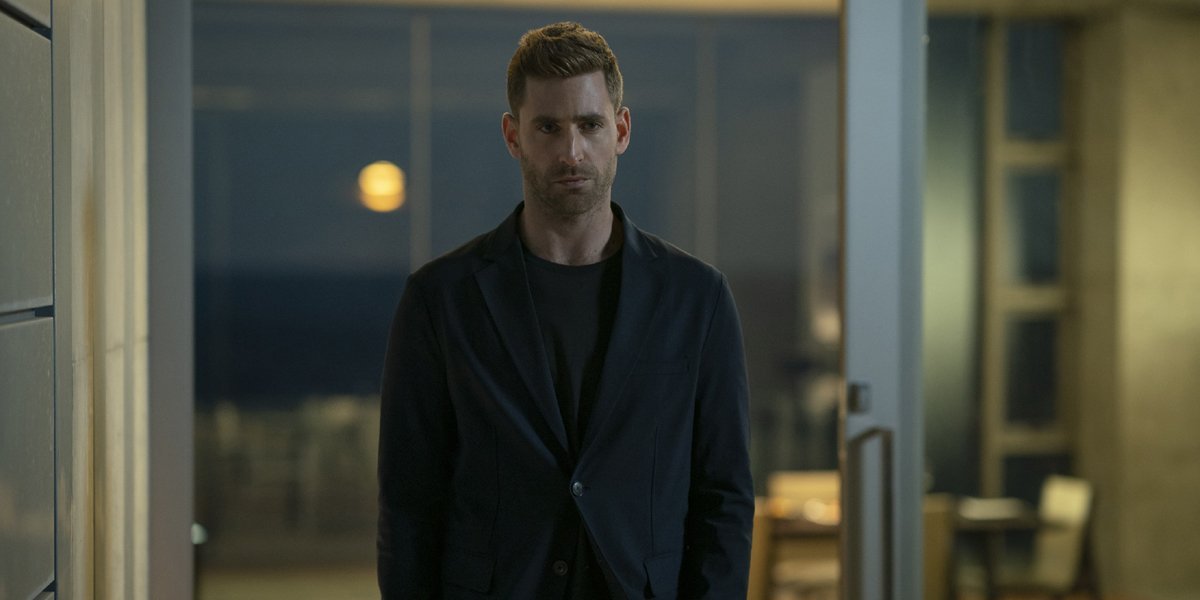 Oliver Jackson-Cohen as Adrian Griffin in The Invisible Man