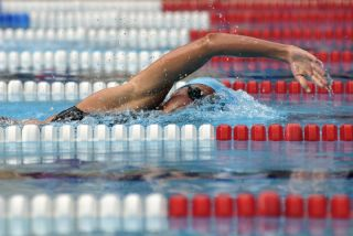 Swimmer in Hungary 2008