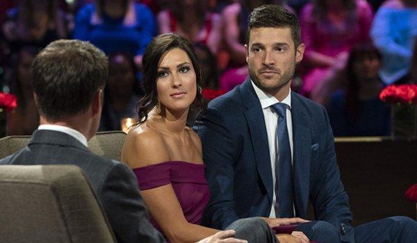 The Bachelorette 2018 After the Final Rose Becca Kufrin and Garrett Yrigoyen serious