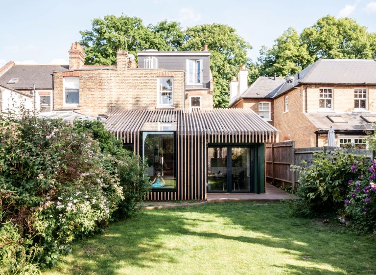 contemporary extension on house by variant office