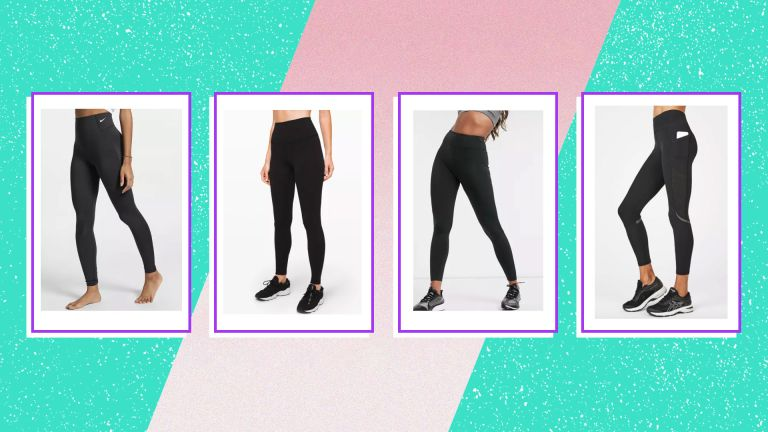 Our favorite black gym leggings