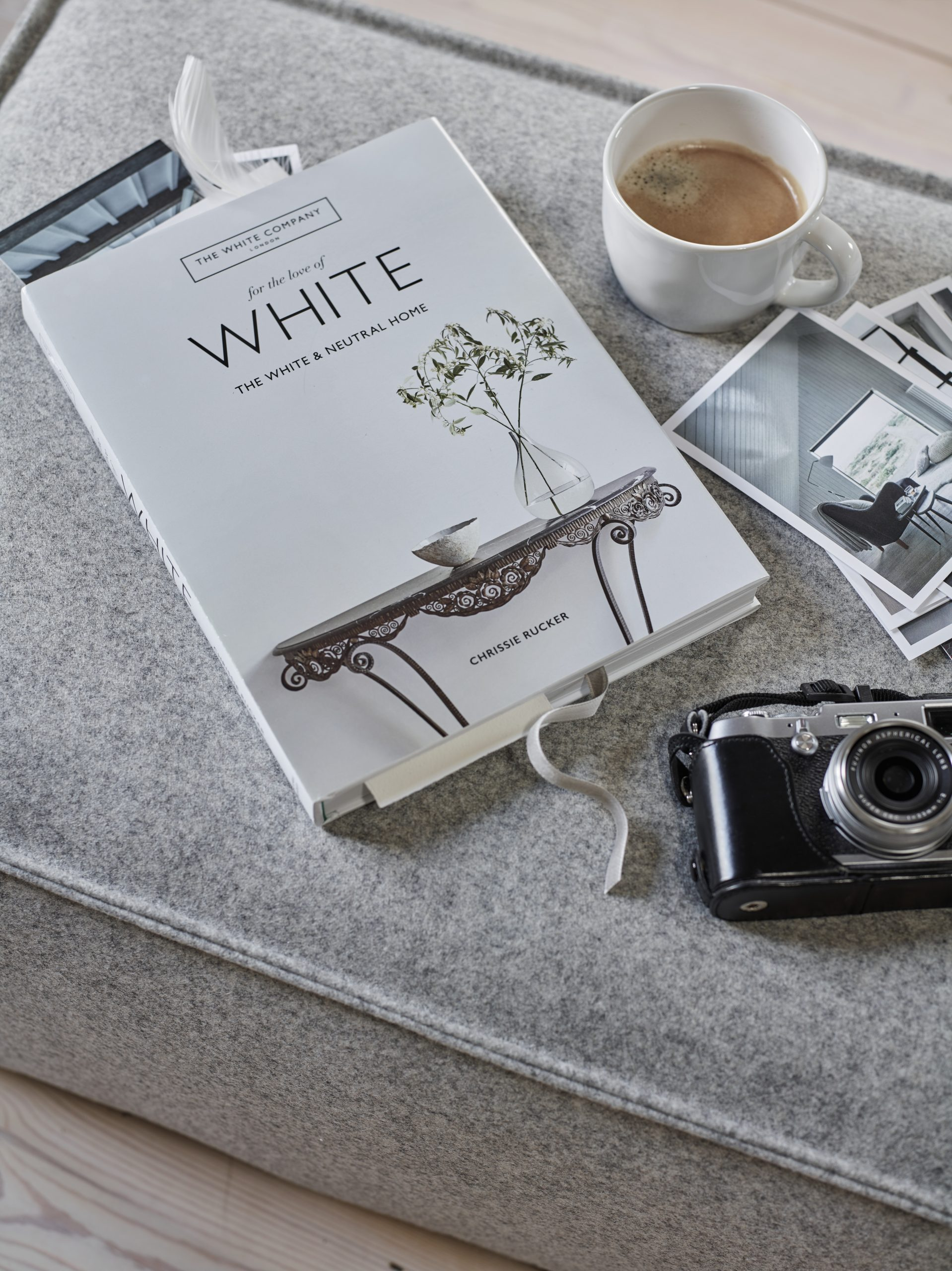 The White Company book For the Love of White