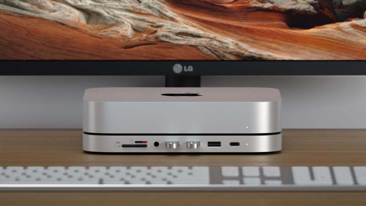 Satechi's  Mac Mini USB-C Dock Adds M.2, SD Card Reader, USB-A Ports