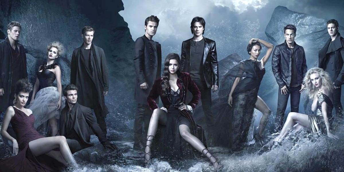 The Vampire Diaries cast including Originals stars