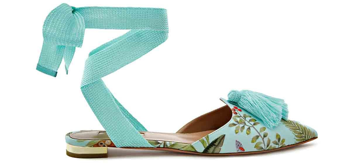 76a82e2f8 ... reimagined in blue and its tropical print plastered on to loafers