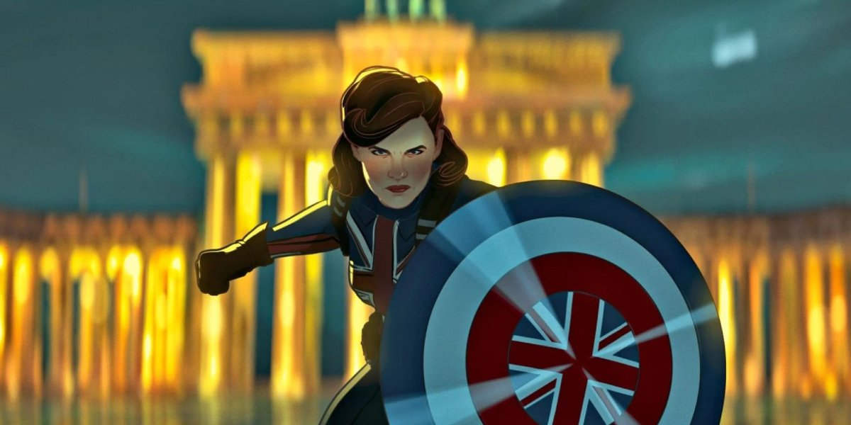 Hayley Atwell as Peggy Carter on What If...?