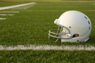 football helmet, football