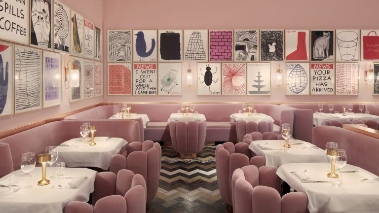 Interior designed restaurants, London