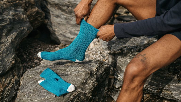 Finisterre NHM collab socks