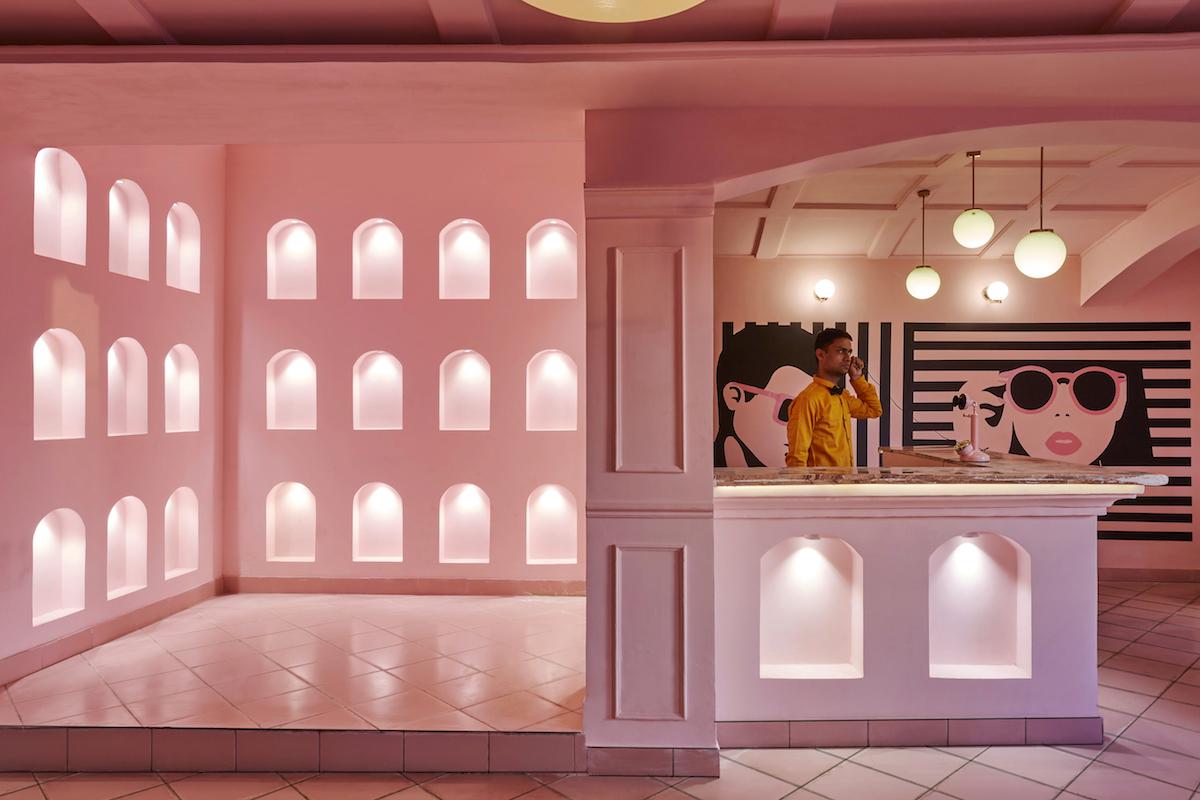 Inside The Wes Anderson-Inspired 'Pink Zebra' | Livingetc