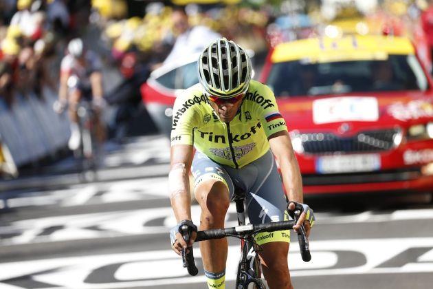 78dd1820e Alberto Contador down but not out after first Tour de France climbing test