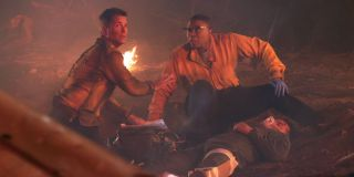 Aisha Hinds and Rob Lowe together in 9-1-1: Lone Star