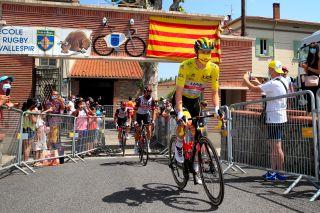 Tour de France 2021 108th Edition 15th stage Ceret Andorra La Vella 1913 km 11072021 Tadej Pogacar SLO UAE Team Emirates photo Luca BettiniBettiniPhoto2021