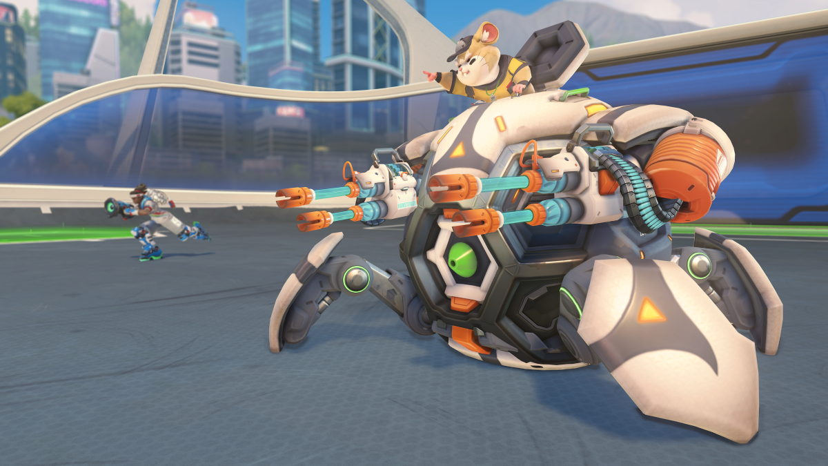Overwatch's newest hero might have a name and a face