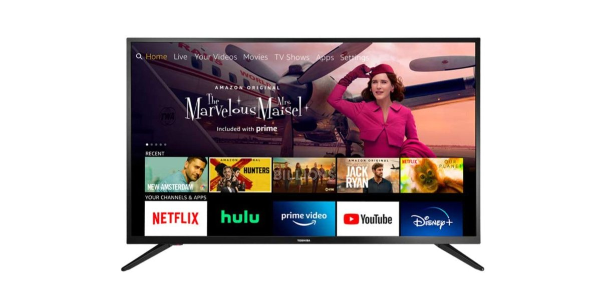 Toshiba 43-Inch Smart HD TV With Fire TV
