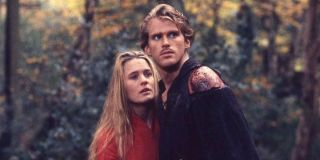 Robin Wright and Cary Elwes in Princess Bride