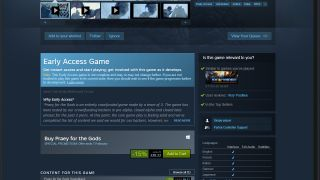 Steam offers early access to some games to test before they release