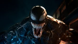 Venom shows his fangs!