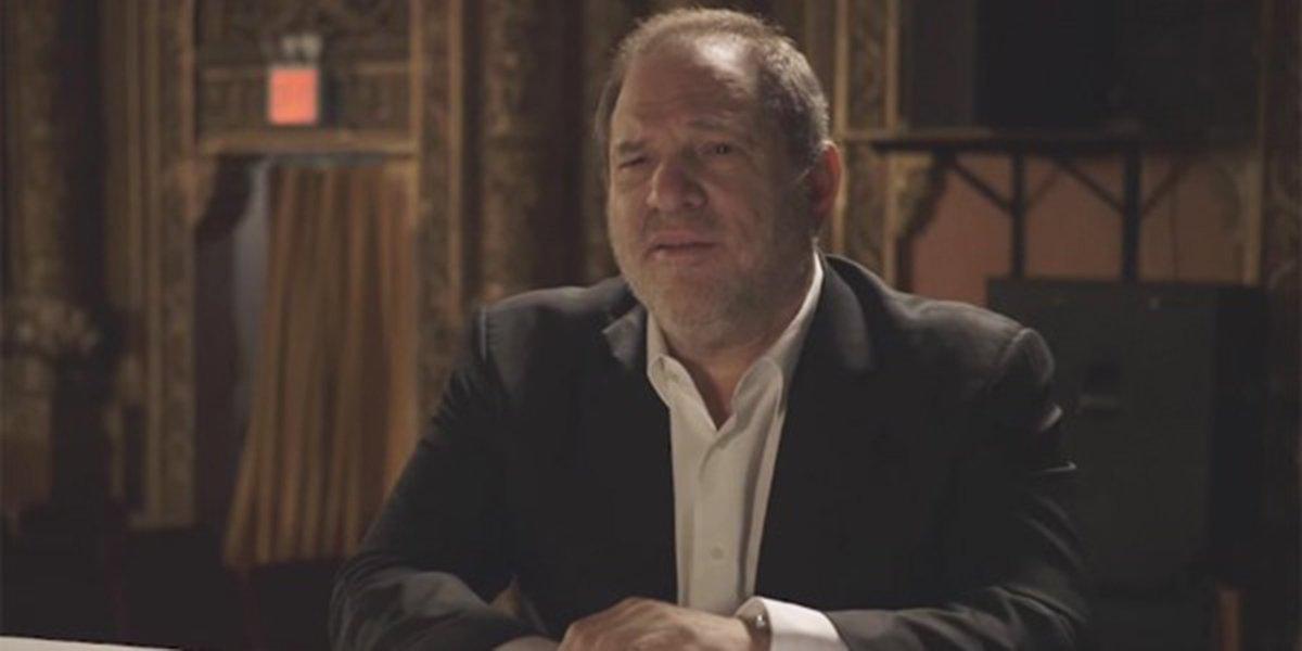 Harvey Weinstein in an interview