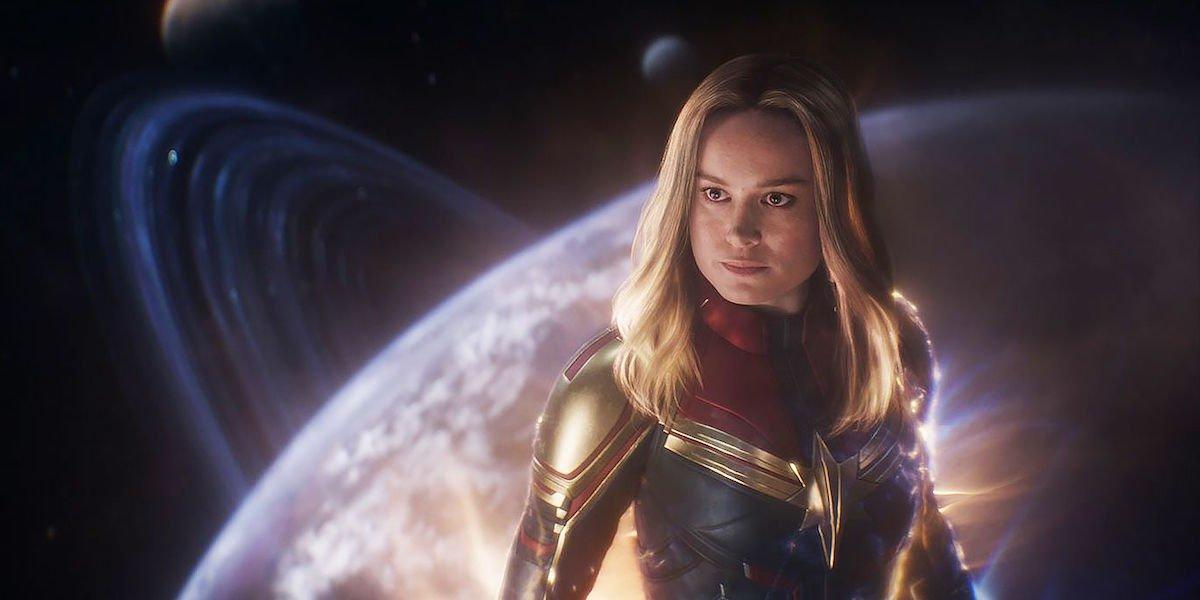 Brie Larson as Carol Danvers/Captain Marvel in Avengers: Endgame (2019)