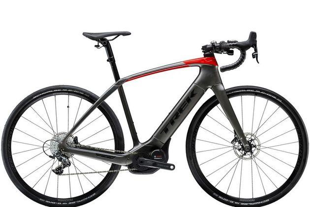 Trek launches Domane+ electric bike that can hold 'Tour de France speeds'