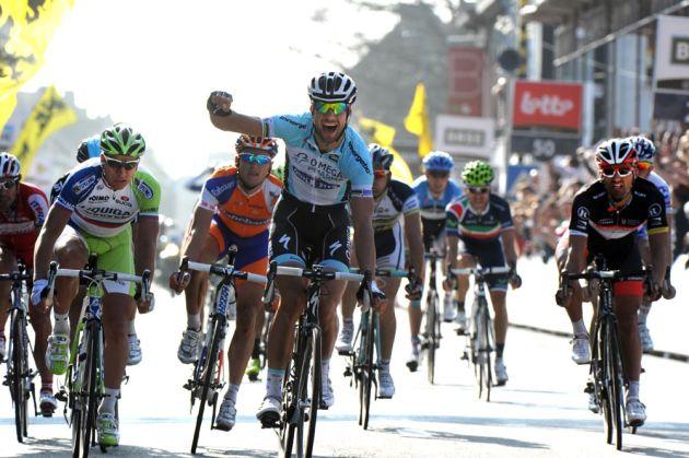 Tom Boonen wins Ghent-Wevelgem 2012