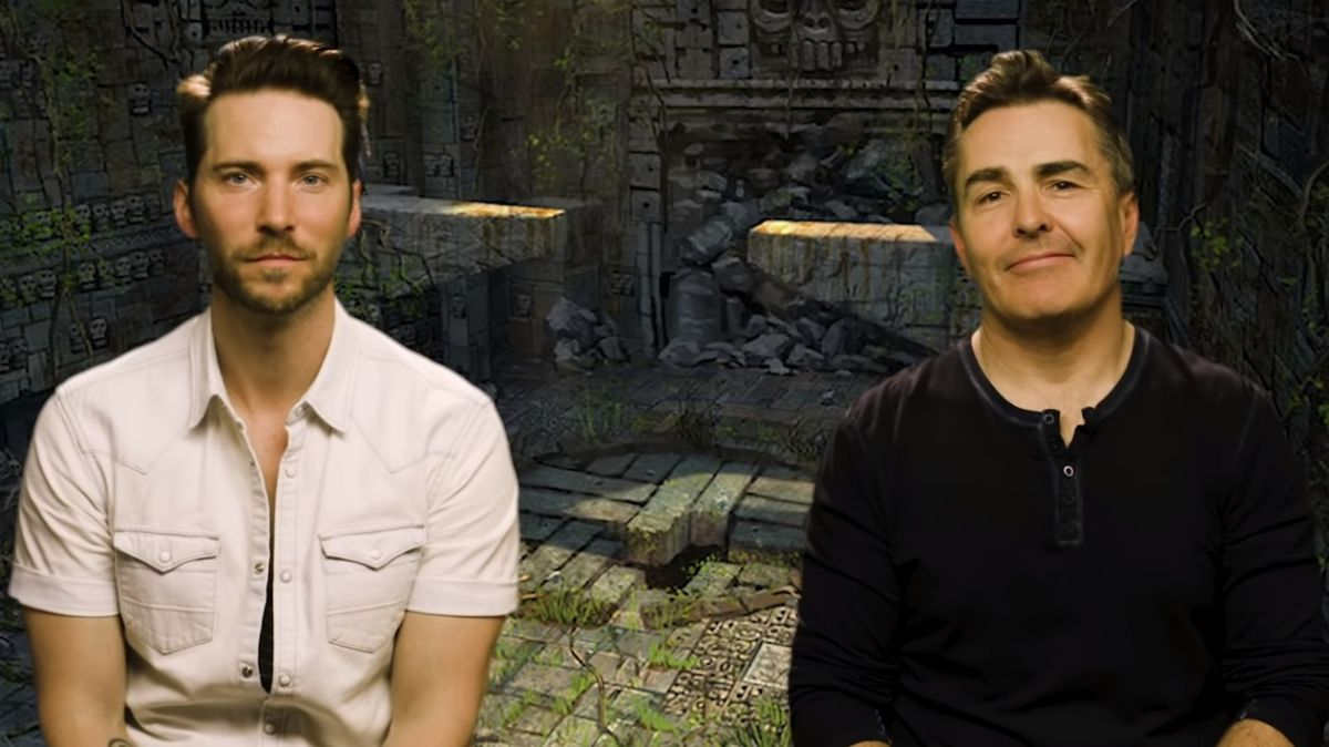Nolan North is doing an Uncharted Let's Play with Troy Baker and it's amazing