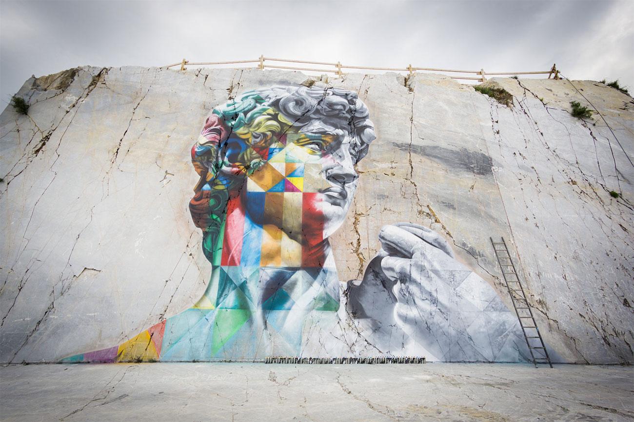 Street art: Kobra