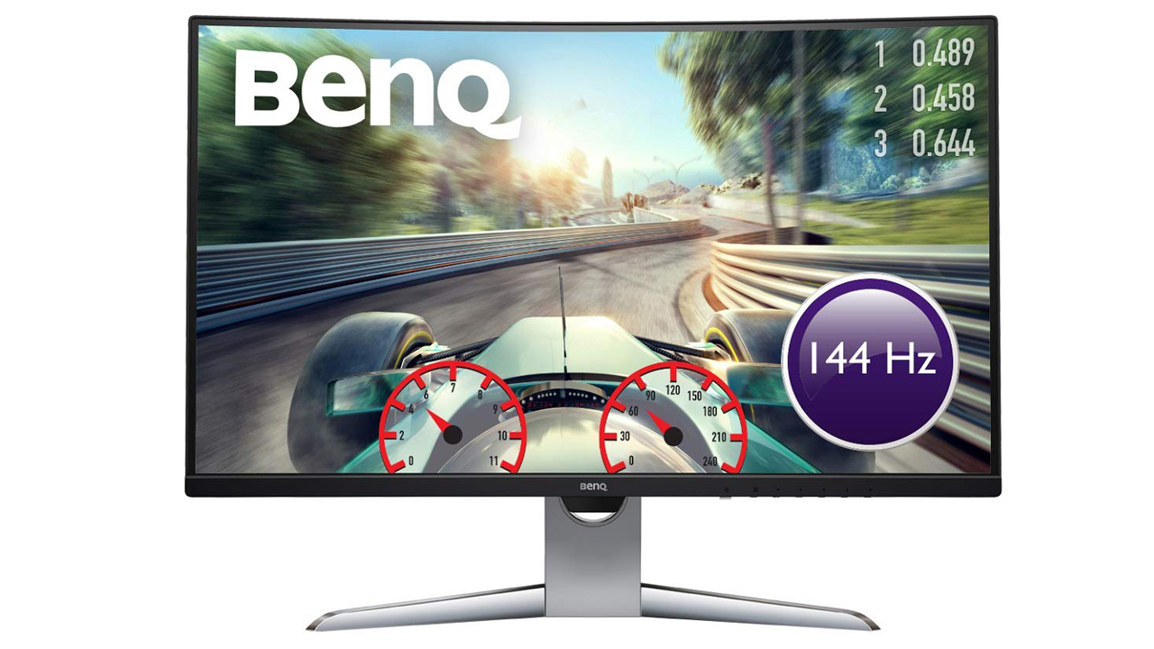 Save £100 on a terrific curved BenQ gaming monitor right now for prime Day | PC Gamer