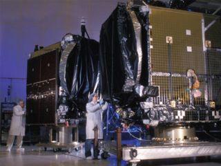 Crane Accident Damages Malaysian Satellite