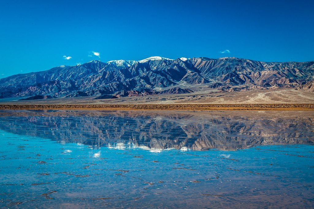Miles-Long Lake Pops Up in Death Valley