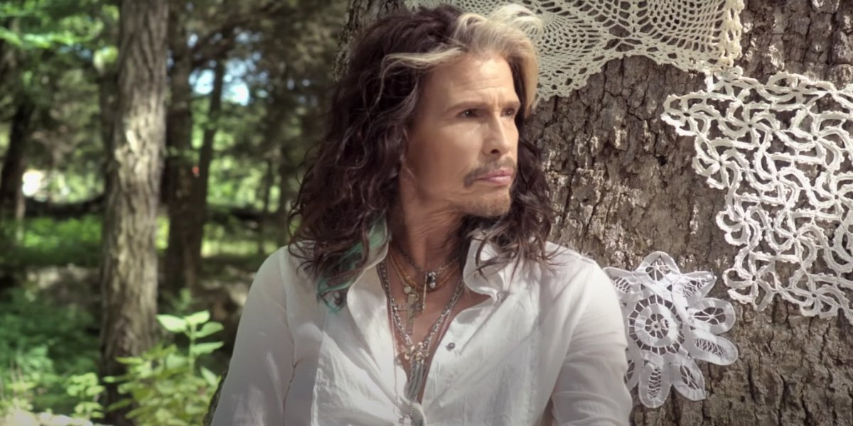 Steven Tyler in the Love Is Your Name music video
