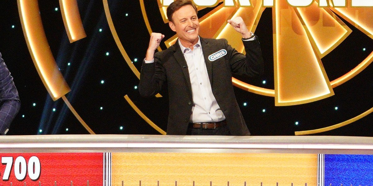 Chris Harrison Celebrity Wheel Of Fortune ABC