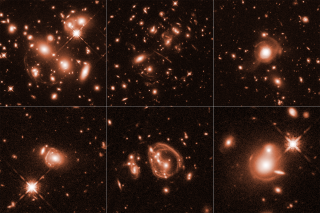 Six Images of Gravitational Lensing