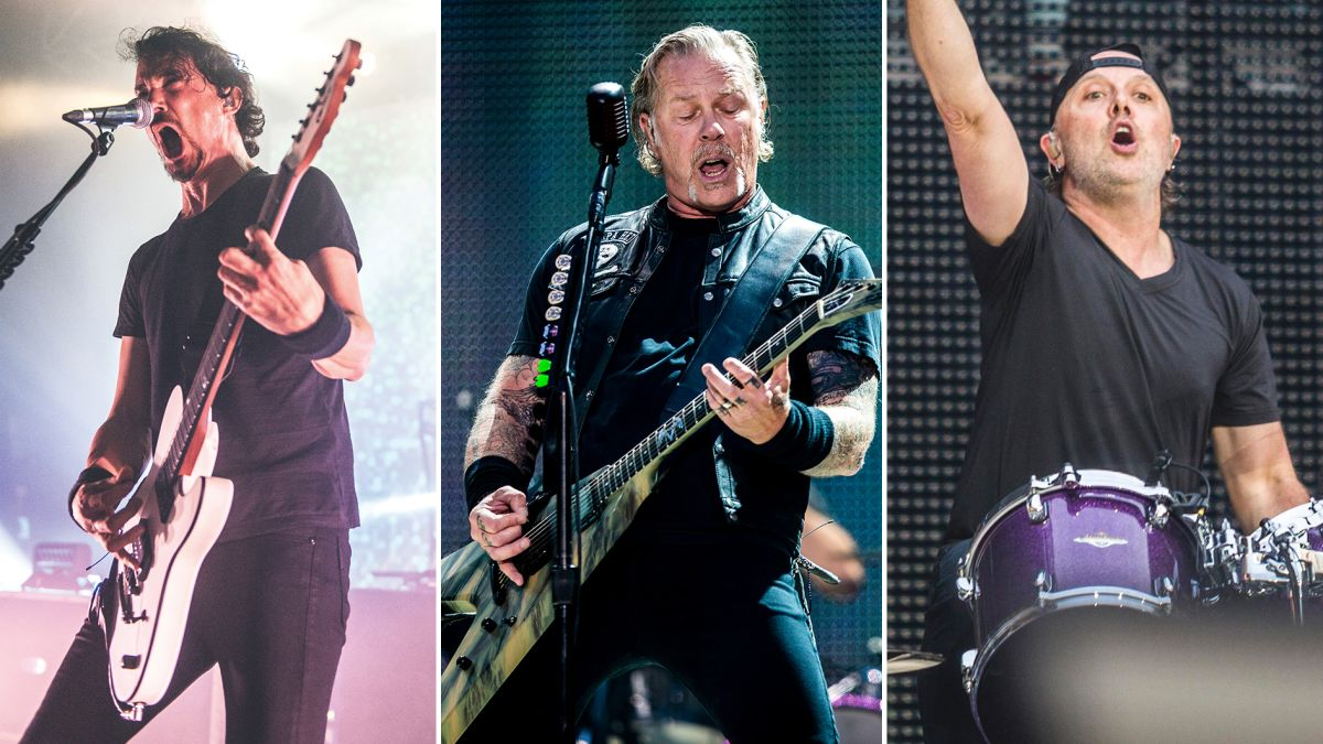 Gojira's Joe Duplantier: James Hetfield barely has drums in his in-ear monitors, Lars Ulrich follows his lead onstage