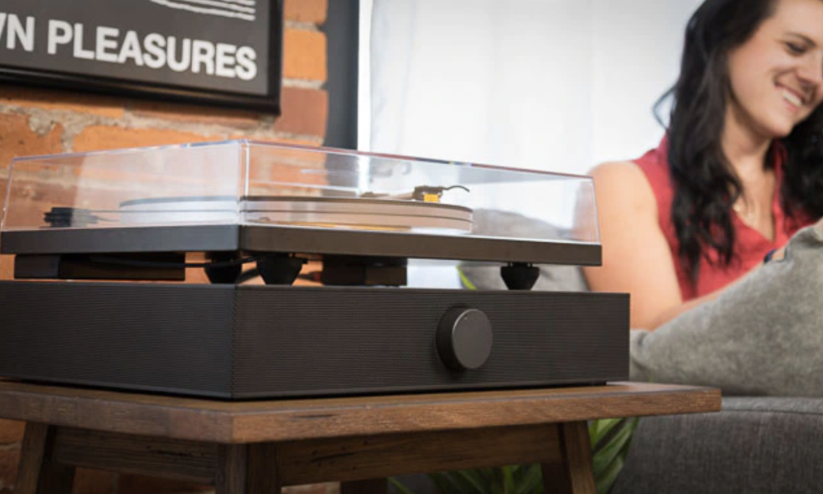 Andover Audio's Spinbase is a soundbase for your record player